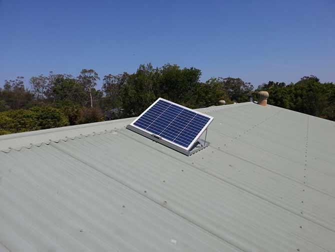 commercial solar skylight